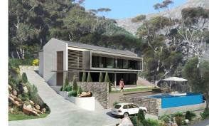 Berg-en-Dal House, Hout bay Rendering