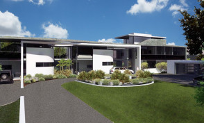 Cullross Drive, Bryanston Entrance Rendering
