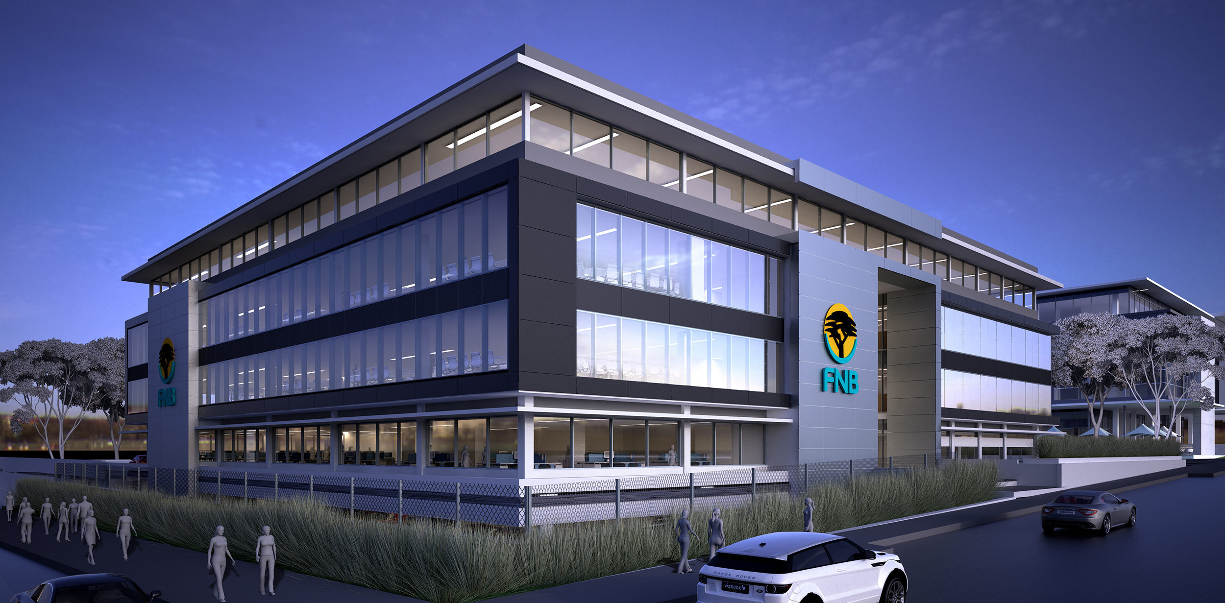 Bomax Architects Fnb Regional Offices